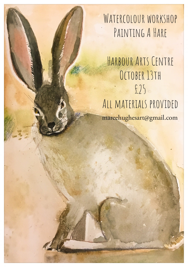 Nature Themed Watercolour Workshops - Various Dates