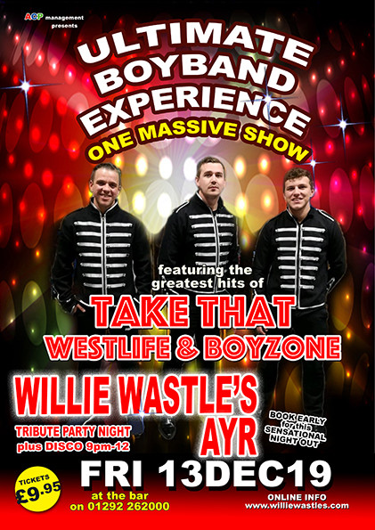 Ultimate Boyband Experience - Featuring the greatest hits of Take That, Westlife and Boyzone
