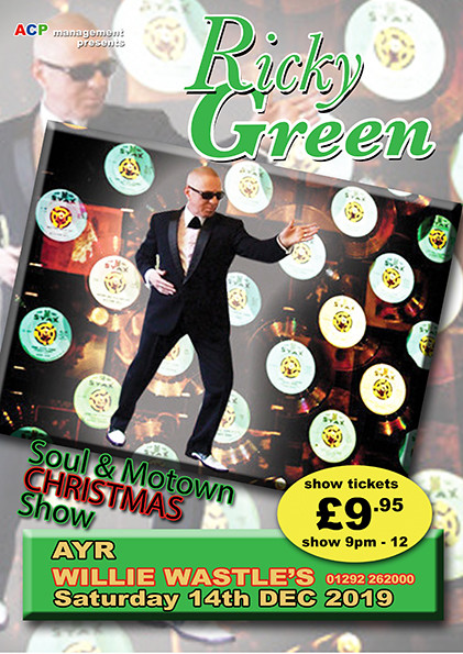 Ricky Green - Soul and Motown Christmas show
