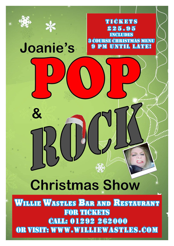 Joanies Christmas Pop and Rock!