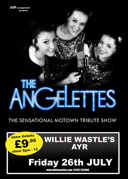 The Angelettes - Sensational Motown tribute show